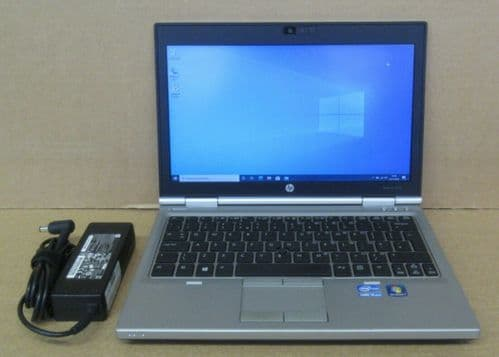 "HP Elitebook 2570p 12.5"" HD i5-3360M 2.8Ghz 4GB Ram 500GB HDD Win10 Pro Laptop"